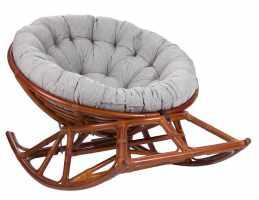 Кресло-качалка Papasan ROCKER CHAIR с подушкой